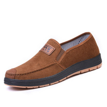 Cloth shoes men's cotton shoes winter new father middle-aged and elderly thick warm casual men's shoes plus velvet cotton boots middle aged and elderly people with cotton cotton diabetes shoes foot swelling variable foot care shoes bunion gout shoes