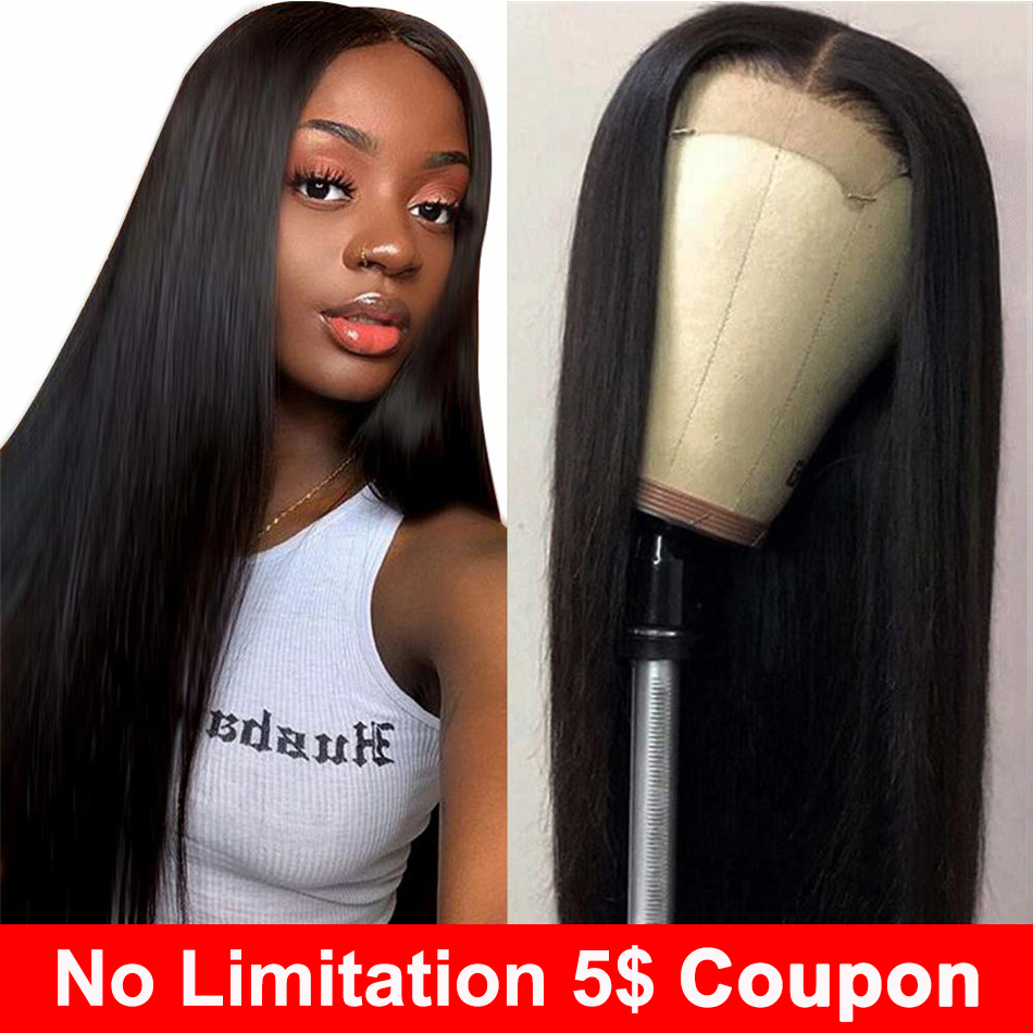 Liddy Lace Front Human Hair Wigs Straight Pre Plucked 8-26 Inch 13x4 Lace Front Wig 150% Non-Remy Human Hair Lace Front Wigs