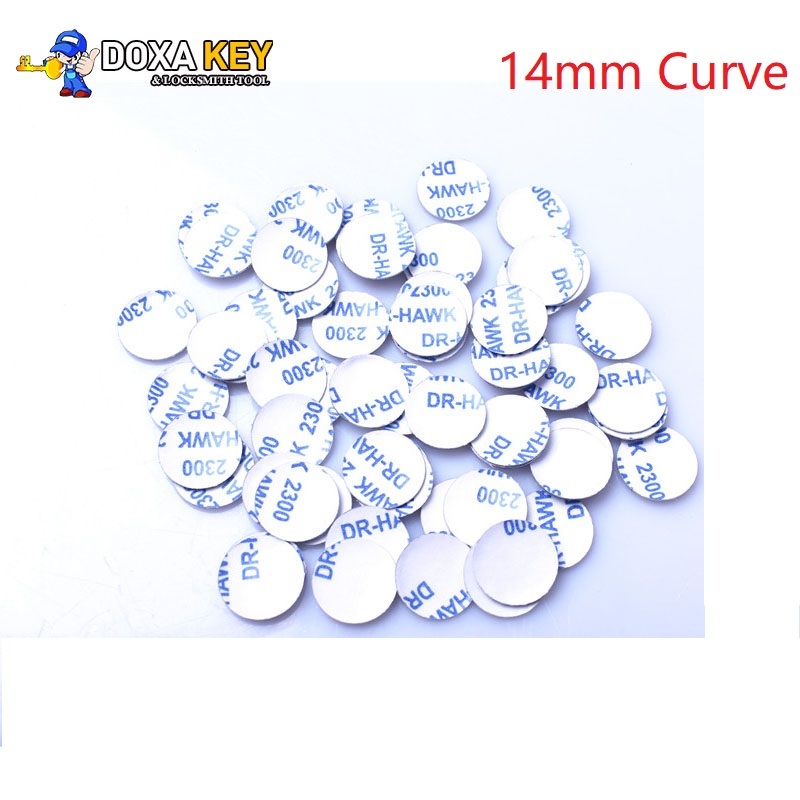 5pcs/lot 14mm Car Key Emblem Sticker Logo For Bmw And For Vw