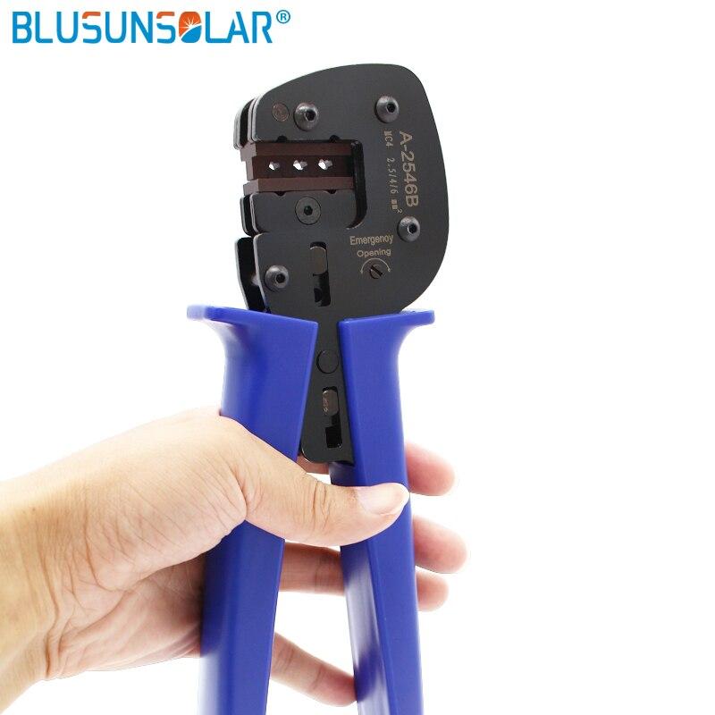 Outil de sertissage solaire Pv solaire pour connecteur solaire PV câble solaire 2.5m2 4mm2 6mm 2/PV pince à sertir outils