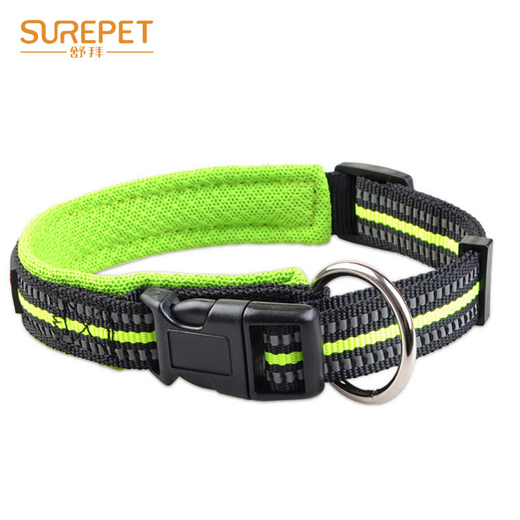 Safe Reflective Dog Collar And Medium-sized Dog Bandana Dog Hand Holding Rope Pet Supplies