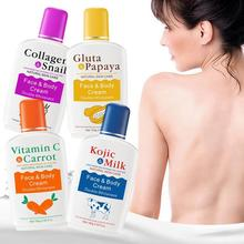 VitaminC Skin Whitening Body Cream Carrot Papaya Milk Bleaching Face Breast Moisturizing Lotion Lightening