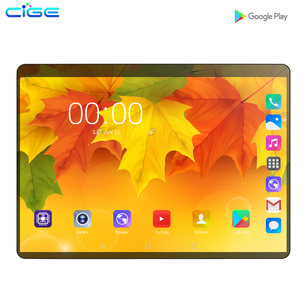 2019 10.1 Inch Tablet PC 3G 4G LTE Android 9.0 Octa Core Metal Tablets 6GB RAM 128GB ROM WiFi GPS 10 Tablet IPS WPS