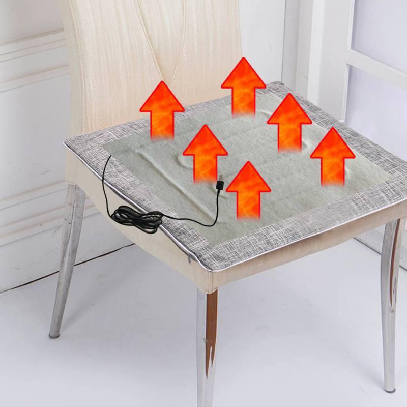 5 в USB Грелка Портативный ноги грелка DIY Электрический нагревательный коврик для жилета куртка одежда стул диван мебель