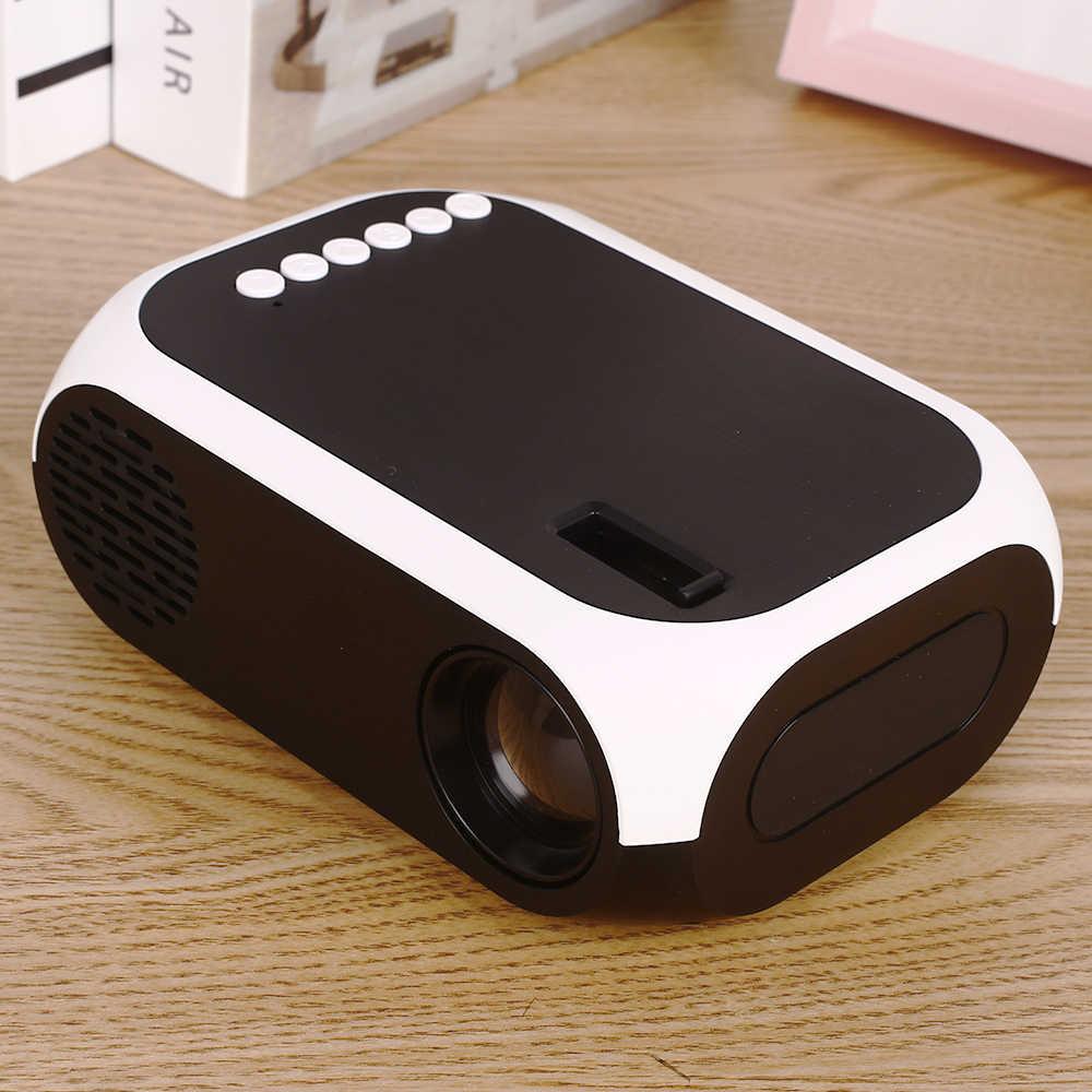 BLJ-111 LCD FHD inteligentny projektor 4K 3D 1920*1080P Mini interfejsy projektor obsługuje USB AV HDMI Film kino domowe Film suporte pr