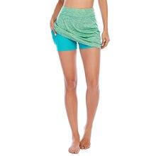 Женская спортивная короткая юбка для йоги бега бадминтона гольфа