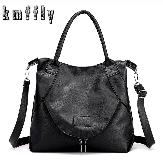 New Winter Crossbody Shoulder Bags For Women 2019 Retro Ladies Casual Hand Tote bags Female Soft Leather Luxury Big Handbags Sac