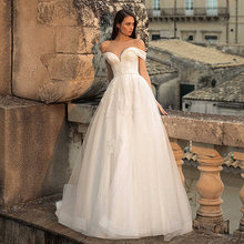 Без бретелек платье трапециевидной формы свадебные платья 2021