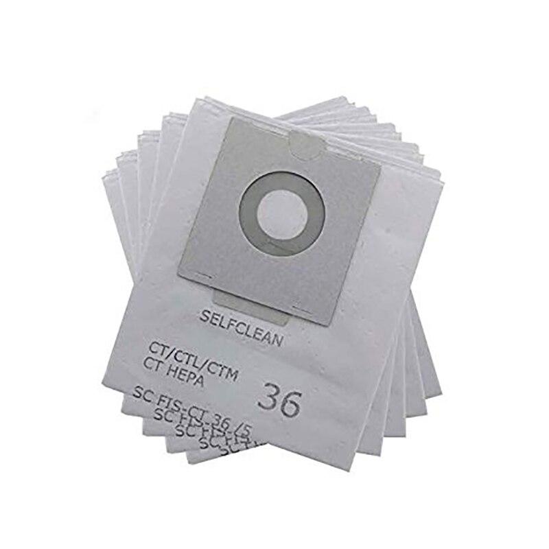 10PCS Vacuum Cleaner Dust Filter Bag for Festool CT36E