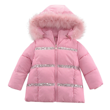 2020 Autumn Winter Coat For Baby Girls Jackets Cotton Padded Girls Clothes Children Jackets For Girls