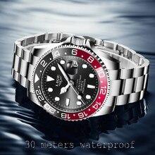 2021 nouveau LIGE hommes montres mode affaires étanche Quartz montre-bracelet hommes haut marque de luxe en acier inoxydable Sport horloge mâle
