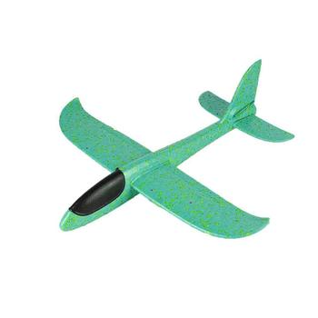 48cm Big Hand Throw Airplane Flying Foam Glider Plane Inertia Aircraft Toy Hand Launch Mini Airplane Outdoor Toys Gift for Kids kf606 2 4ghz rc airplane flying aircraft epp foam glider toy airplane 15 minutes flight time rtf foam plane toys kids gifts