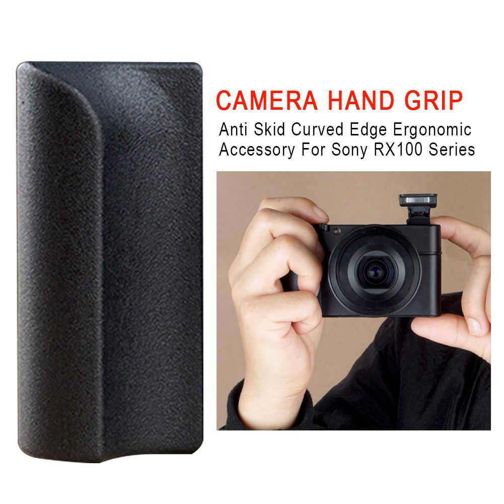 Durable Empuñadura Borde Curvado Cámara Anti Skid adhesivo para Sony RX100 Serie