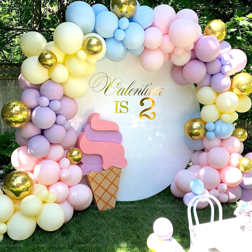 Balloon Set Used For Party Dance Opening Wedding Banquet Birthday Balloon Chain Used For Adult Female Child Balloon Arch Bridge