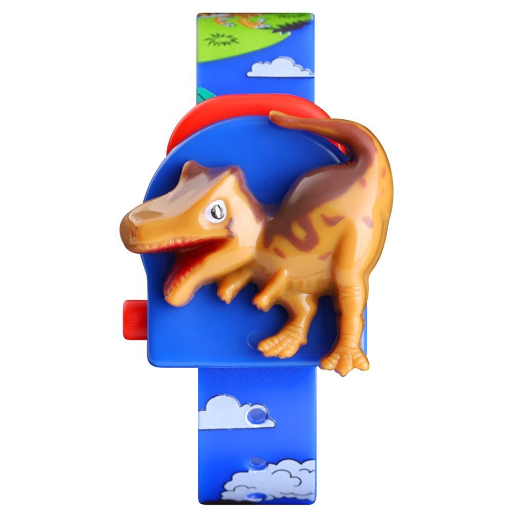 SKMEI Cute Cartoon Dinosaur Pop-up Detachable Printed Band Kids Digital Watch Fashion Simple Casual Children's Watches Hot