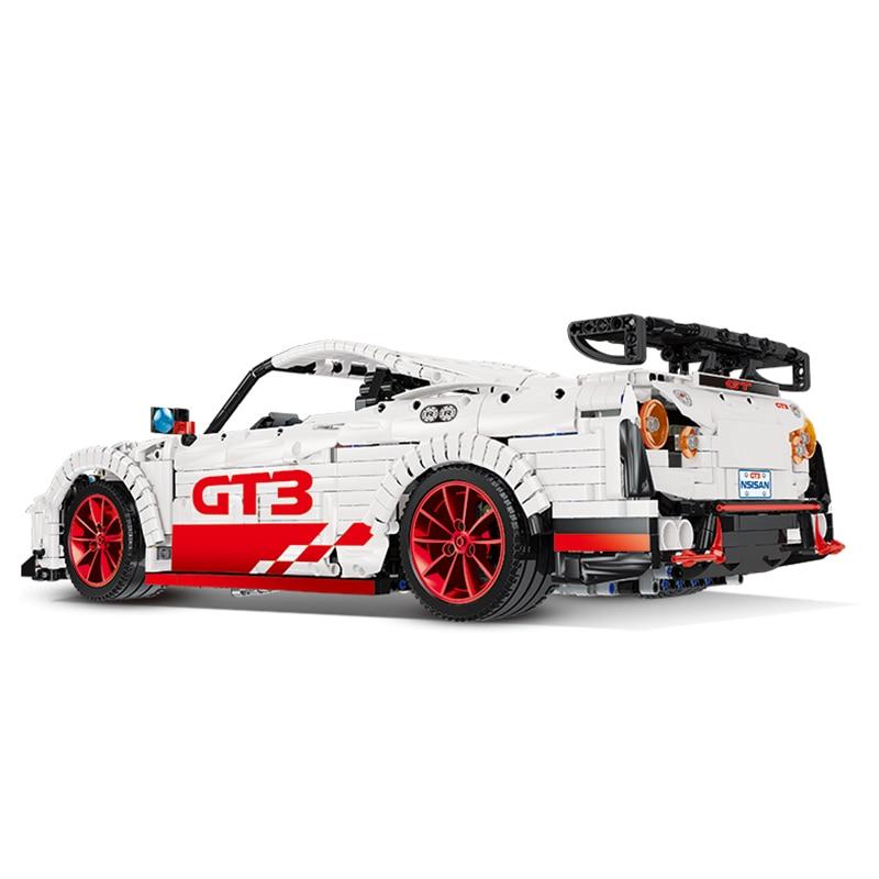 23010 GT-R técnica rc carro de corrida