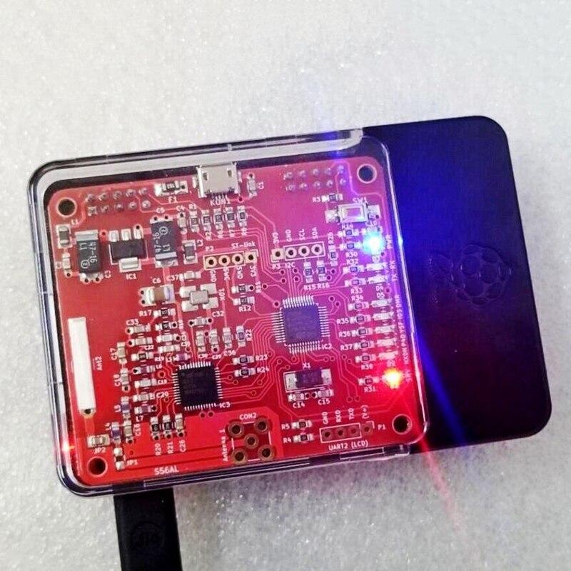 raspberry pi V2.0 Mmdvm Hotspot Module P25 Dmr Ysf Nxdn + Raspberry Pi 3B + 16G Sd + Case (2)