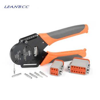 1 set IWD-12/16/20 AWG suitable for Deutsch DT DTM DTP connector crimping pliers Machining car terminal lathe pin Crimping plier - DISCOUNT ITEM  5 OFF Tools