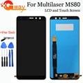 ЖК-дисплей 5,7 дюйма, 100% Протестировано для Multilaser MS80, ЖК-дисплей, сенсорный экран, стекло в сборе, полный экран для Multilaser MS80 + Инструменты