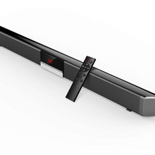 Soundbar TV Bluetooth Speaker Home Theater Sound System 2.0 Support Optical AUX 40W Wireless with Subwoofer for TV 3D Surround