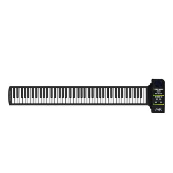 цена на Multi Style Portable 88 Keys Flexible Silicone Roll Up Piano Folding Electronic Keyboard for Children Student