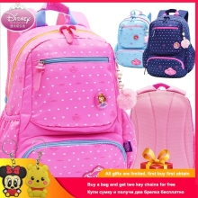 Disney Sofia Princess Children's Backpack High Quality Dots SchoolBags for Boys Girls Schoolbag Ultralight Kid Satchel Grade 1-5