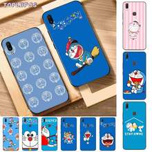 TOPLBPCS Japan Anime Doraemon Luxury Unique Phone Cover for Vivo Y91C 31 53 19 11 17 81 55 66 69 71 V11 i 9 7 67(China)