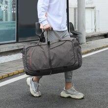 Мужская вместительная спортивная сумка деловой Дорожный чемодан