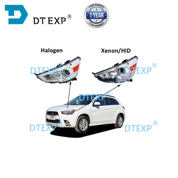 цена на Hid HEADLIGHT FOR ASX rvr TURNING SIGNAL LAMP FOR OUTLANDER SPORT WITHOUT xenon BULBS no ballast with motor inside
