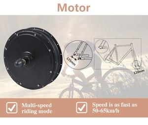 50-60 km/h geschwindigkeit 48V 1500W e bike conversion kit 1500W Rad Motor Hinten für 20-29 zoll 700C elektrische bike kit 1500w