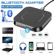 Adaptateur USB sans fil Bluetooth 5.0, récepteur et transmetteur de musique stéréo, prise AUX 3.5MM, pour haut-parleur, TV, voiture, PC