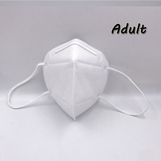 Non-woven Protective Face Mask Anti-flu Anti-dust Standard Proof Safety Shield Fast Shipping 4