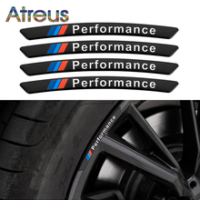 4X wydajność felgi rowerowe samochód wyścigowy M naklejki do BMW E34 E46 E30 E36 E90 E92 E93 F31 F30 G20 G21 E38 E65 E66 F01 F02 G11 G12