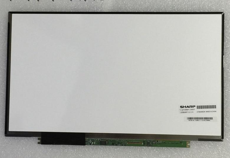 Pantalla de matriz LCD 13,3 LEVOU parágrafo LQ133M1JW01 1920x1080 WUXGA FHD eDP 30pin pantalla pará PARA Fujitsu S935