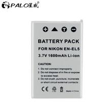 1-4 sztuk 7V 1600 mAh EN-EL5 cyfrowy akumulator baterie do aparatu do aparatu Nikon Coolpix P4 P80 P90 P100 P500 P510 P520 P530