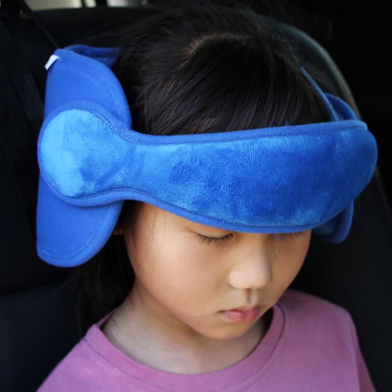 Car Seat Head Support Sleep Pillows Kids Neck Travel Stroller Safe Soft Pillow