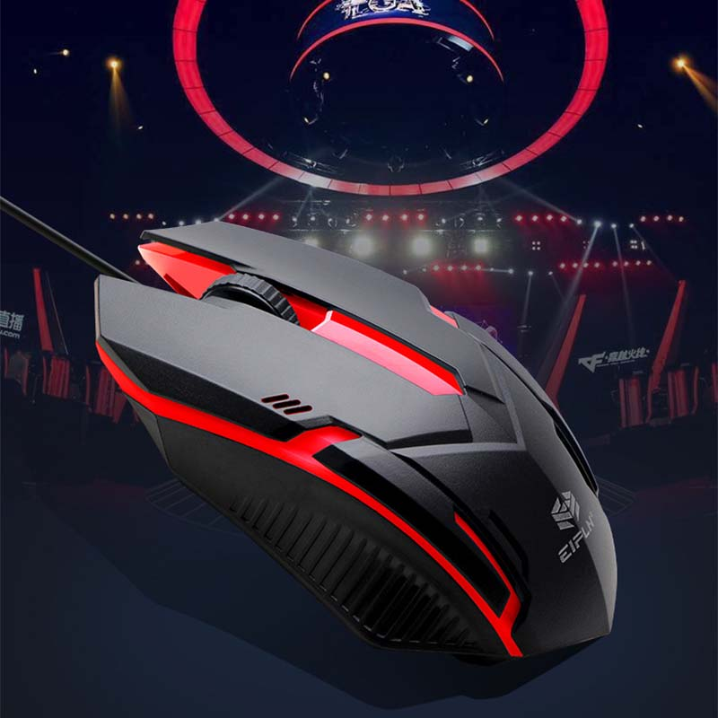 Can change the gaming mouse in seven colors overwatch computer mouses gamer pc cute mini ergonomic wired mouse mice image