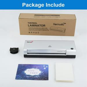 Image 2 - A4 Hot Laminator laminating Machine for A4 Document Photo Blister Packaging Plastic Film Roll Laminator
