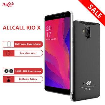 Перейти на Алиэкспресс и купить В наличии AllCall Rio X 5,5 дюйм18:9 1 ГБ ОЗУ 8 Гб ПЗУ Android 8,1 четырехъядерный процессор MTK6580M две Камеры 13 МП + 5 Мп 2850 мАч 3G мобильный телефон