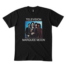 Tel-evision marquee lua camisa pegatina máscara clásica camisa 173dmn cuello redondo sudadera negro