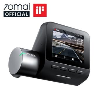 70mai Smart Dash Cam Pro 1944P Voice Control Speed Coordinates GPS ADAS 70mai Pro Car Dash Camera 70mai Plus Car DVR 24H Parking