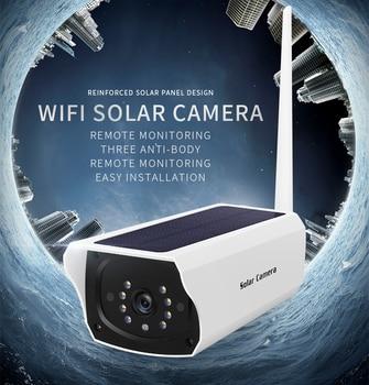 1080P 2.0MP Home WIFI Surveillance Cameras Waterproof Outdoor Security Solar Battery Power IP Camera Hunting Wildlife IP Camera 1