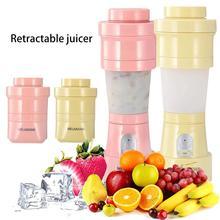 купить Mini Electric Fruit Juicer USB Rechargeable Smoothie Maker Blender Machine Travel Portable Juicer Sports Bottle Juicing Cup дешево