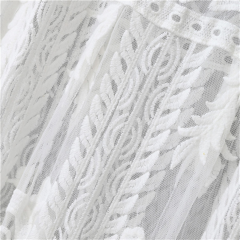 Elegence Pregnancy Maxi Dress Photography Prop Long Lace White Baby Shower Dresses Maternity Gown For Pregnant Women Photo Shoot (4)