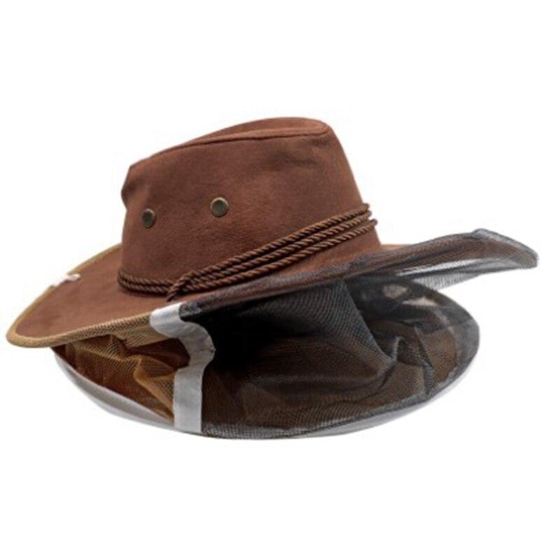 Шляпа пчеловода, ориентированная на экспорт, инструмент для пчеловодства, модель ковбоя, предотвращающая появление пчелы, шапка для пчеловодства, классическая форма для пчеловодства