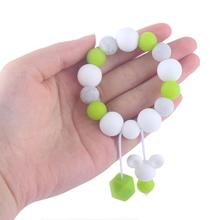Baby Teether Bracelet Maternal And Child Supplies Molar Stick  Beech Toy