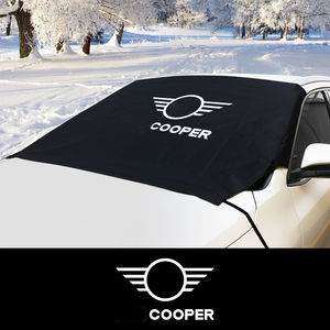 Image 1 - Car Windshield Snow Ice Dust Block Sun Shade Cover For MINI Cooper F57 Cabrio F54 CLUBMAN S R60 Countryman R61 Auto Accessories