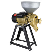 3500w 150 type multi function grinder bean grinder rice pulper corn grain beater steel grinder wet and dry