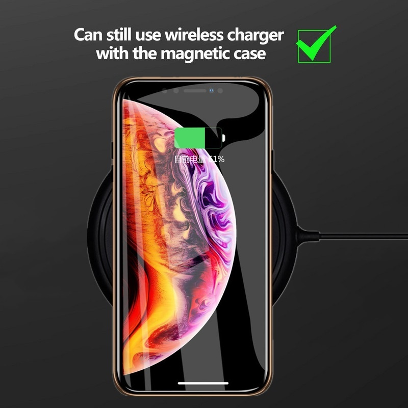 H567742aad4174c69a541ed52310ca606C Tongdaytech Privacy Magnetic Case For Iphone XS XR X 6s 6 7 8 Plus 11 Pro MAX Magnet Metal Tempered Glass Cover 360 Funda Cases