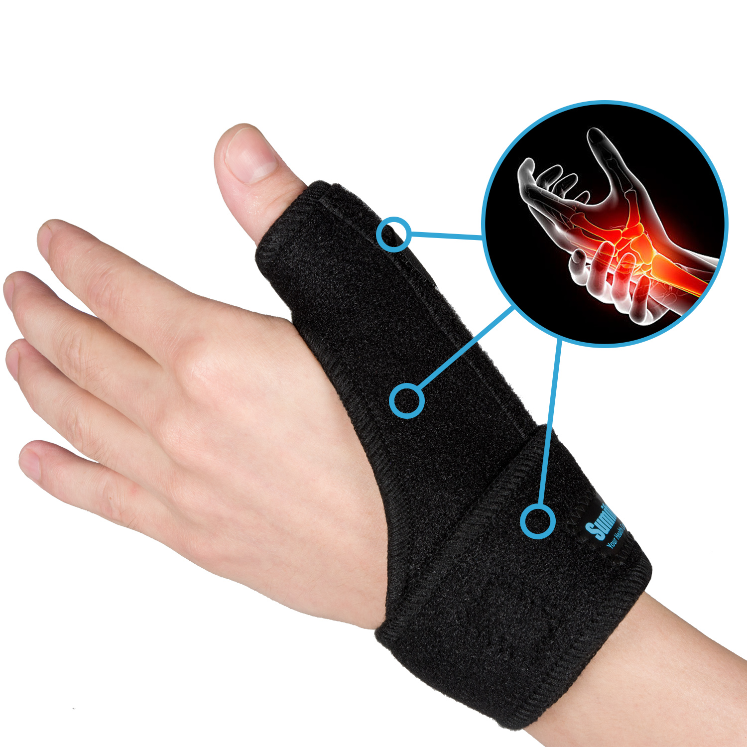 1pcs Hand Protecor Thumb Spica Wrist Brace Splint Support For Arthritis Tendonitis Carpal Tunnel Pain Relief C1572